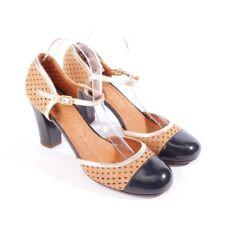 CHIE MIHARA Pumps Gr. D 39,5 Multicolor Damen Schuhe High Heels Shoes Leather