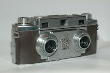 Revere 33 stereo camera with 2 Wollensak Amaton 35mm 1:3.5 lenses in exc. cond.
