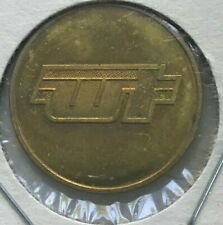 Whittier California CA Whittier Transit Transportation Token