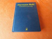 Hermann Buhl-Kompromißlos nach oben-Hrsg:R. MESSNER + H. HÖFLER-Steiger Ver 1997