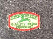 Old Vintage John Deere Farm Equipment Tractor Sales Service Uniform Jacket Patch