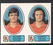 PANINI CALCIATORI CALCIO 1977-78 autoadesivo, n. 482, PISTOIESE-Silvano Gualandi