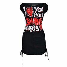 Poizen Industries Zombie Heart Dress gothic Clearance sale Alternative dress