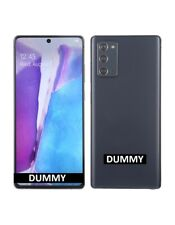TELEFONO FINTO DUMMY SCHERMO COLORATO REPLICA Samsung Galaxy Note20 5G GRIGIO