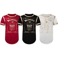 NEW Men Billionaire Club Self Made Gold Foil Embossed T-Shirt 3 Colors ALL SIZES