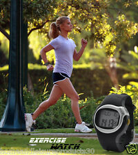 Sports Exercise Watch with Pulse & Calorie Reader - LCD Display