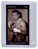 JOE LOUIS UNDEFEATED WORLD HEAVYWEIGHT BOXING CHAMPION, RARE EDITION