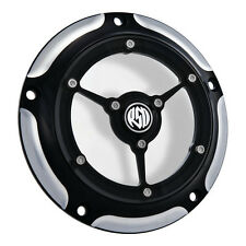 RSD Clarity Derby Cover, Contrast Cut, f. Harley - Davidson Big Twin 99 - heute