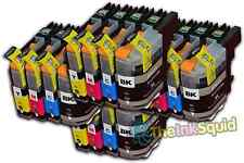 16 LC121 Cartuchos de tinta para la impresora Brother MFC-J470DW MFC-J650DW MFC-J870DW