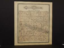 Minnesota Otter Tail County Map Otter Tail Leaf Lake Township 1912 K12#83