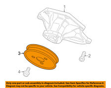 AUDI OEM 09-15 Q7 3.0L-V6 Water Pump-Pulley 059121031H