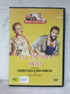 All The Way Boys DVD Bud Spencer & Terence Hill - Spaghetti Comedy