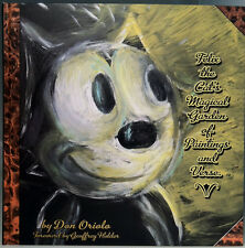 FELIX THE CAT'S MAGICAL GARDEN OF PAINTINGS AND VERSE HARDCOVER BOOK (2011)