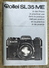 Caméra Mode D'emploi ROLLEI SL 35 ME user manual MODE D'EMPLOI (x9004
