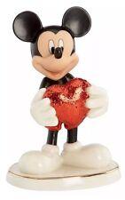 Lenox Disney Love Struck Mickey Figurine NIB with COA