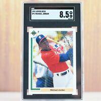 1991 Upper Deck Baseball Michael Jordan SP1 SGC 8.5 NM / MINT Comp to PSA