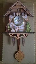Miniatur Kuckucksuhr Magnet Schwarzwald Uhr Geschenk Souvenir Digitaluhr