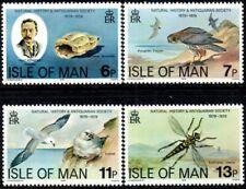 (Ref-15437) Isle of Man 1979 Natural History Society   SG.144/147 Mint (MNH)