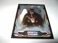 2016 Star Wars Masterwork DARTH VADER SILVER Parallel #49/99 CARD #1