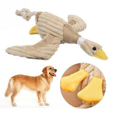Funny Pet Cat Dog Puppy Chew Bite Squeaker Squeaky Plush Sound Duck  Toy