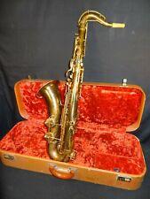 Nice Holton Collegiate Tenor Sax Serial # 147799  1941