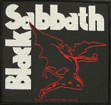 "BLACK Sabbath ricamate/Patch # 20 ""creature DEVIL"" - 10x10cm"