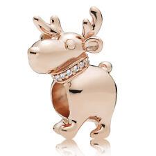 Renntier PANDORA Rose Charm-reindeer Charm 787514CZ