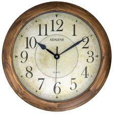 Adalene 14-Inch Large Wall Clock Decorative Living Room Modern - Battery