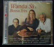 Wanda Sá With Bossa Três Self Title Cd Sealed 2000 Brazil Issue Rare
