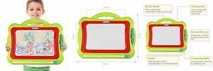 Meland Magnetic Drawing Board - Kids Magna Doodle Erasable...