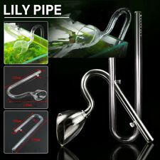 Acuario salida entrada Lily Pipe de Vidrio & Filtros 13mm Tubo con 2 Taza de succión