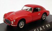 Norev 1/43 Scale Model Car 778001 - Fiat 8V - Red
