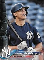GIANCARLO STANTON 2018 Topps Update Short-Print SP Photo Variation #US7 YANKEES
