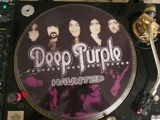 """Deep Purple  - Haunted (Bananas) Rare 12"""" Picture Disc LP The Best Greatest Hits"""