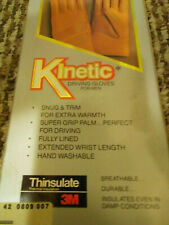 New listing Kinetics Leather Mens Driving Gloves New!