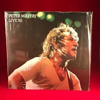 PETER MAFFAY Live '82 1982  Vinyl LP + INNER + POSTER  EXCELLENT CONDITION