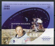 Bulgarien Bulgaria 2009 Raumfahrt Space Astronaut Mond Block 318 B Imperf MNH