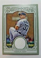2013 topps gypsy queen Max Scherzer game worn relic card