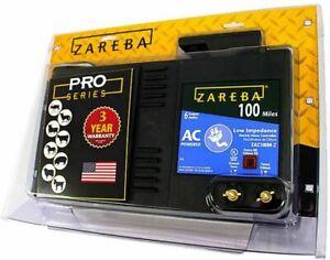 Zareba Pro Series 100 Miles EAC100M-Z AC Electric Fence Controller