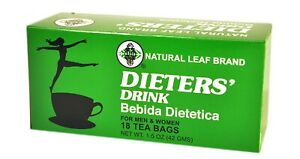 1/5/8/12/20 Boxes, Dieters' Drink Bebida Dietetica For Men & Women, 18 Tea Bags