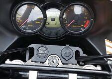 Handlebar auxiliary shelf 12V socket voltmeter Suzuki vstrom DL1000 2004-2011