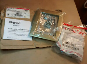 Wiremold Legrand 817TCAL-BS Brass 1 Gang Carpet & Tile Flange - Fast Ship