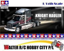 TAMIYA 56314 1/14 Scale RC Tractor Truck Knight Hauler 3-Speed 6x4 Kit NIB