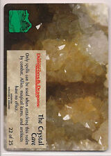 Spellfire 1996 Runes & Ruins Ultra Rare UR Chase 22/25 The Crystal Cave