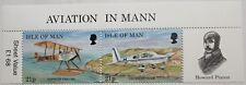 Manx Aircraft stamp sheet, Isle of Man, Howard Pixton, 1997 Sg ref: 747-748, Mnh