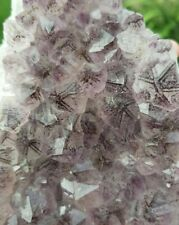Amethyst Crystal Bed Natural Raw Cluster With Goethite Inclusions Geode 1.07kg