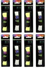 8 Paar Leucht Flachsenkel | Leuchtende Schnürsenkel Party Schuhbänder leuchtend