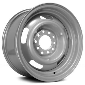 """4-Pacer 144S Rally 15x8 5x4.5""""/5x4.75"""" -6mm Silver Wheels Rims 15"""" Inch"""