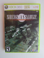 Zoids Assault Game in Case! Xbox 360