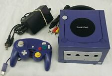 Nintendo GameCube Console System Complete With Controller and Cords. Tested !